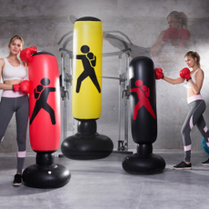 childrenadultfoldingtrainingsandbag, taekwondoinflatablesandbag, Fitness, Home & Living