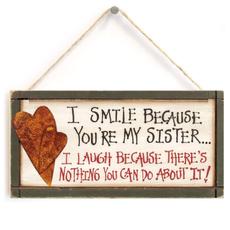friendgift, sistergift, Regalos, sisterplaque