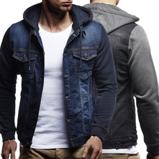 Casual Jackets, slim, Outerwear, Sleeve