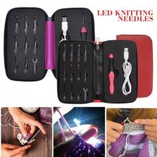lightcrochet, lights, Knitting, ledlightcrochethook