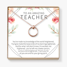 giftforteacher, circlenecklace, Gifts, friendshipgift