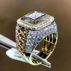 Fashion, wedding ring, gold, aneldeouro
