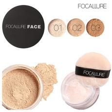 powdercosmetic, loosepowder, powder puff, (makeup) (beauty)