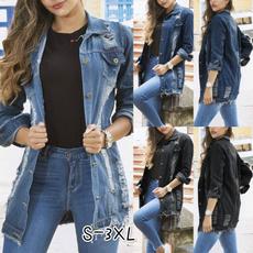 Jeans, jeanjacket, Moda, Manga
