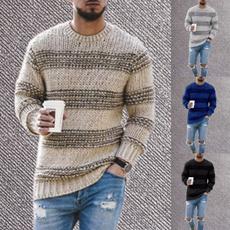 crewneck sweater, Plus Size, Winter, Sleeve