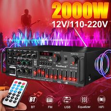 audioamplifier, Microphone, Remote Controls, usb