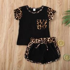 Summer, Baby Girl, leopardoutfit, pants