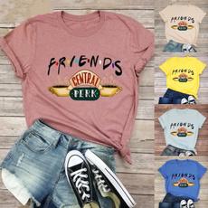 Summer, Plus Size, letter print, summer t-shirts