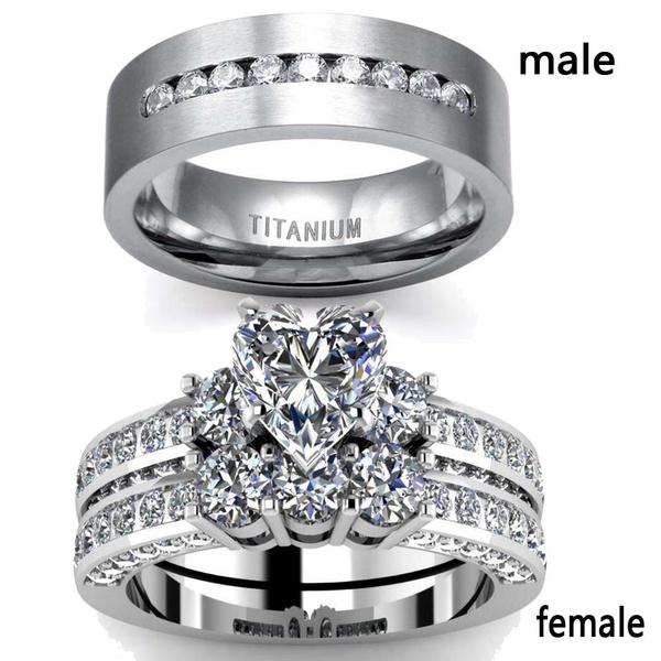 Steel, Heart, Jewelry, Sterling Silver Ring