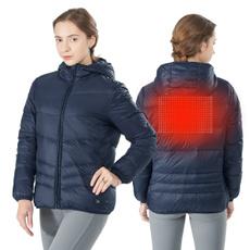 heateddownjacket, Winter, electricusb, Battery