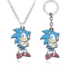 sonic, Key Chain, Jewelry, hedgehogkeychain