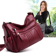 Shoulder, Shoulder Bags, bolsa, leather