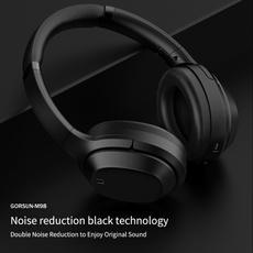 Heavy, Headset, noisecancelingbassheadphone, Sport