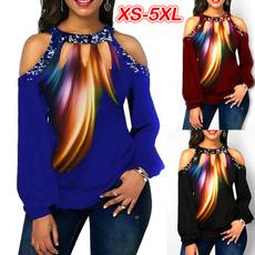 blouse, Tops & Blouses, Plus size top, long sleeve blouse