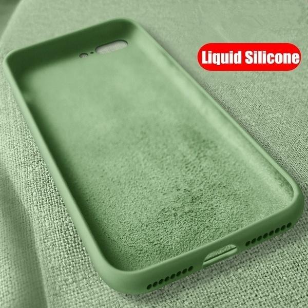 Original Liquid Silicone Cover For iPhone 11 Pro Max X Xs Max XR