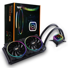 case, rainbow, led, watercooling