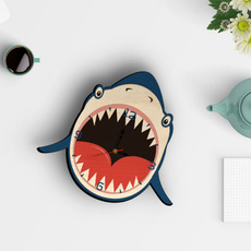 decoration, Shark, paintingclock, Wall Art