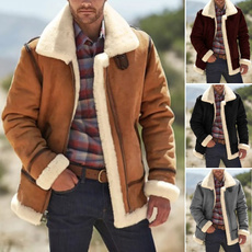 Stand Collar, Fashion, fur, Winter