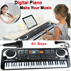 electronicorganwithmicrophone, tecladomusical, Musical Instruments, Electric