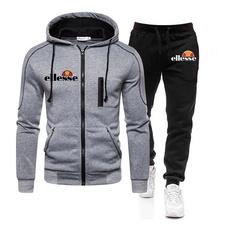 Casual Jackets, hooded, pants, menjoggingsuit