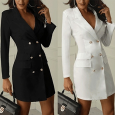Mini, Fashion, doublebreastedtrenchcoat, Blazer