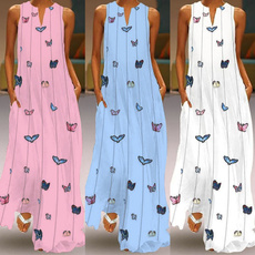 butterfly, Summer, Plus Size, Fashion