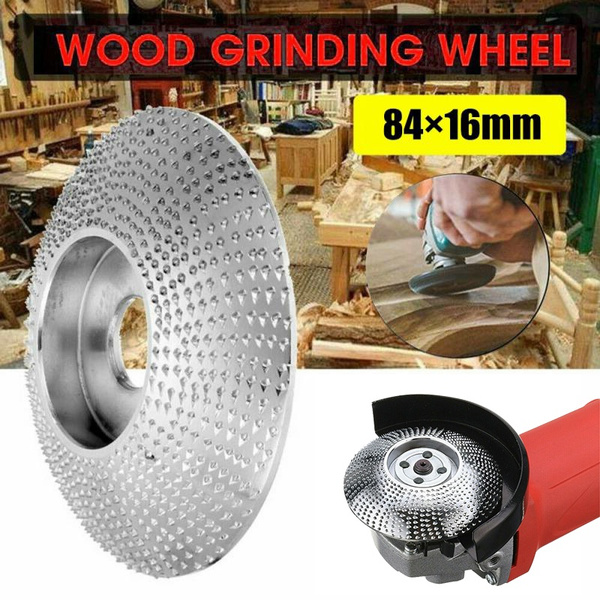 Wood Angle Grinding Wheel Tungsten Carbide Sanding Disc Carving Rotary Tool