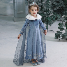 kidscostume, girls dress, Cosplay, Princess