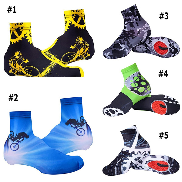 Cycling Zippered Shoe Covers Overshoes Windproof Outdoor Bike XL