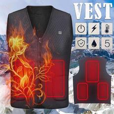 sleeveless, Vest, Fiber, Winter