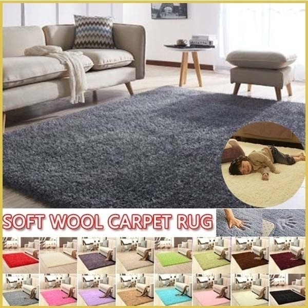 Soft Fluffy Rug Non Slip