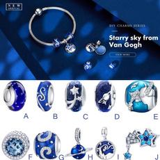 Charm Bracelet, Beaded Bracelets, Bracelet, bluecharm