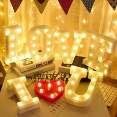 partyletterlight, wallhangingnightlamp, weddingpartydecor, led