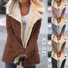 fur coat, Fleece, Plus Size, fur