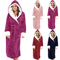 Bath, womenbathrobe, warmbathrobe, Bathrobe