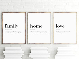 lovewallpainting, art, Home, Family