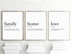 lovewallpainting, art, Home, Family