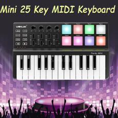 Mini, Musical Instruments, usb, midicontroller