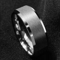 Steel, 8MM, wedding ring, mensfashionjewelry