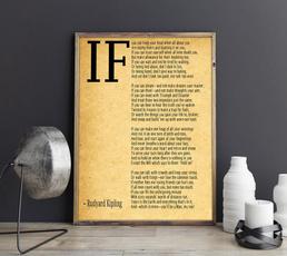 rudyardkipling, ifartprint, art, Posters