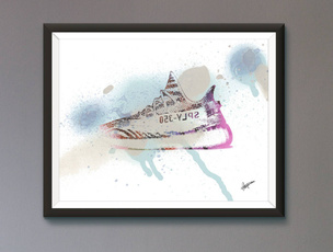 adidasposter, gift for him, Pósters, Birthday Gift