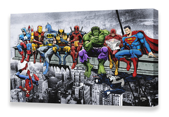 Marvel, girder, art, Wall Art
