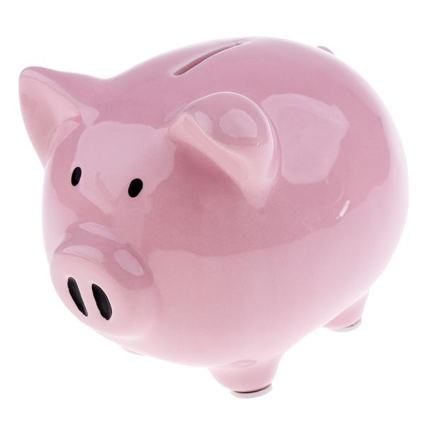 Baby Ceramic Piggy Bank Coin Money Cash