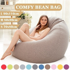 Cotton, beanbag, puffsofa, Home & Living