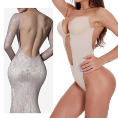 Slimwaist, clearstrap, Polyester, Thong
