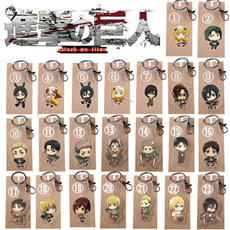 colossaltitan, Key Chain, attackontitankeychain, mikasaackerman