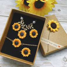 womensfashionampaccessorie, Fashion, sunflowerbracelet, Classics
