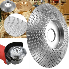"""4.3/"""" Wood Grinding Wheel 110x16MM Sanding Carving Shaping Disc For Angle Grinder"""