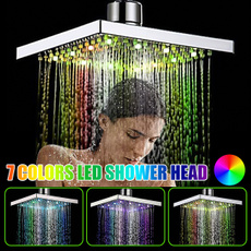 Head, bathroomshowerhead, ledshowerhead, adjustableshowerhead