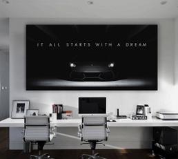 Decor, aventadorcanva, hustlequote, Office
